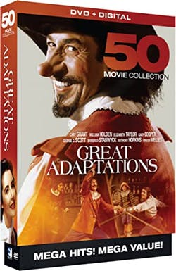 Great Adaptations - 50 Movie Collection (DVD + Digital) [DVD]