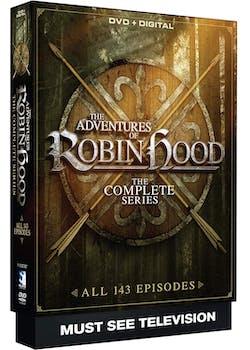 ADVENTURES OF ROBIN HOOD COMPLETE [DVD]