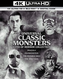 Universal Classic Monsters: Icons of Horror Collection (4K Ultra HD Boxset) [UHD]