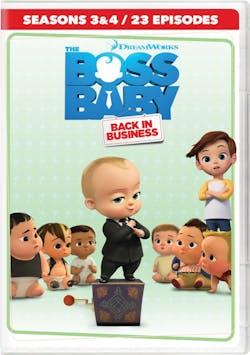 The Boss Baby - Back in Business: Season 3-4 (Box Set) [DVD]