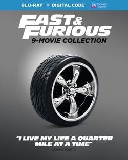 Iconic Moment - Fast & Furious: 9-movie Collection (Box Set) [Blu-ray]