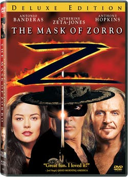 The Mask of Zorro (Deluxe Edition) [DVD]