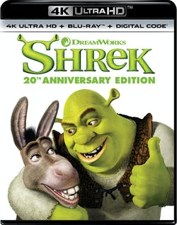 Shrek (4K Ultra HD + Blu-ray (20th Anniversary)) [UHD]