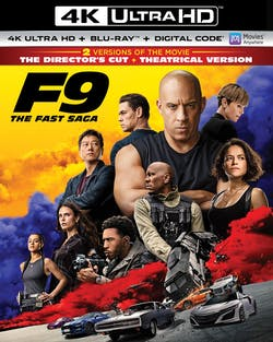 F9: The Fast Saga (4K UHD + Blu-ray) [UHD]
