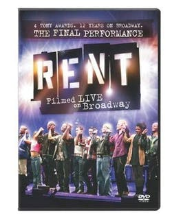 Rent: The Final Performance - Filmed Live On Broadway [DVD]