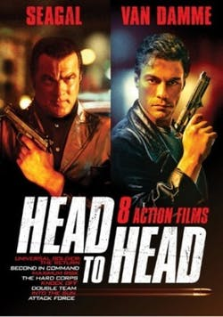 Head to Head - Seagal v Van Damme - 8 Films [DVD]