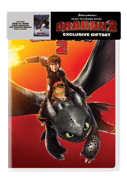 How to Train Your Dragon 2 (Gift Set) [DVD]