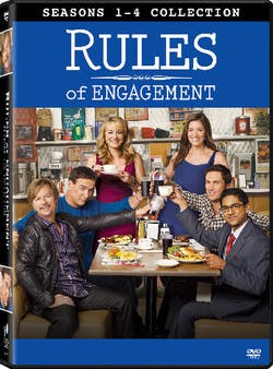 Rules of Engagement: Seasons 1-4 Collection [DVD]