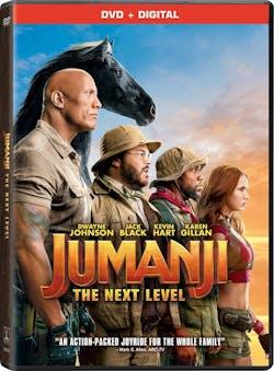 Jumanji: The Next Level  (DVD + Digital) [DVD]