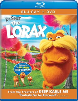 The Lorax (DVD + Digital) [Blu-ray]