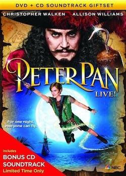 Peter Pan Live! (DVD & CD Gift Set) [DVD]