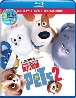 The Secret Life of Pets 2 (DVD + Digital) [Blu-ray]