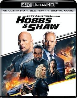 Fast & Furious Presents: Hobbs & Shaw (4K Ultra HD + Blu-ray + Digital Download) [UHD]