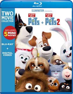 The Secret Life of Pets 1 & 2 [Blu-ray]