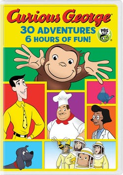 Curious George 30-Adventure Collection [DVD]