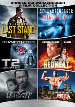 Arnold Schwarzenegger 6 Film Collection (Box Set) [DVD]