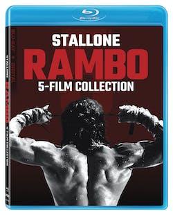 Rambo 1-5 (with DVD - Box set) [Blu-ray]