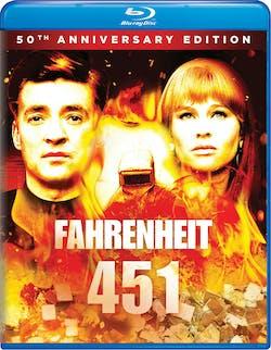 Fahrenheit 451 (50th Anniversary Edition) [Blu-ray]