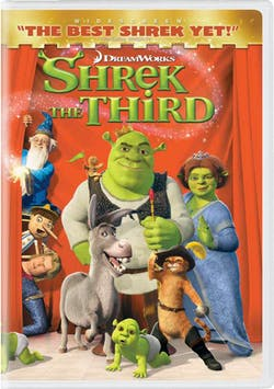 Shrek the Third (Widescreen) [DVD]