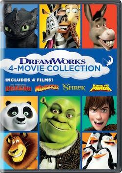 How to Train Your Dragon/Madagascar/Shrek/Kung Fu Panda [DVD]