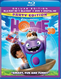 Home 3D (DVD + Digital Deluxe Party Edition) [Blu-ray]
