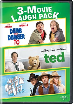 Dumb and Dumber To/Ted/A Million Ways to Die in the West [DVD]