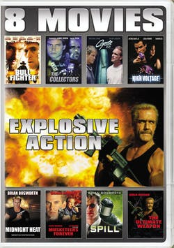 Explosive action 8-movie collection [DVD]