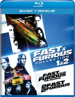 Fast & Furious Collection: 1 & 2 [Blu-ray]