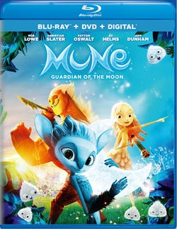 Mune: Guardian of the Moon (DVD + Digital) [Blu-ray]
