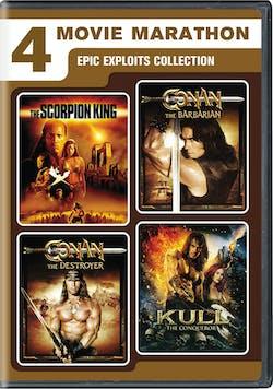 4-Movie Marathon: Epic Exploits Collection [DVD]