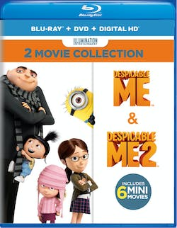 Despicable Me: 2-Movie Collection (DVD + Digital) [Blu-ray]