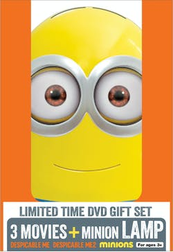 Despicable Me 1-3 (Limited Edition with Kids Lamp) [DVD]