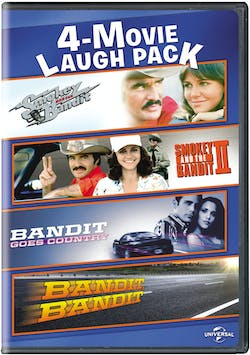 Smokey and the Bandit: 4-movie collection [DVD]