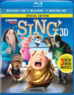 Sing (Special Edition) [Blu-ray]