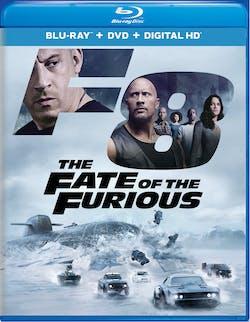 Fast & Furious 8 (DVD + Digital) [Blu-ray]