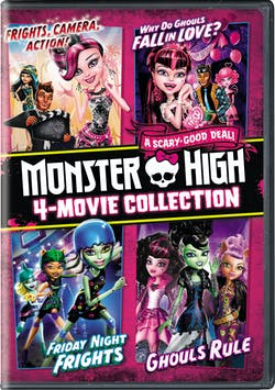 Monster High: 4-Movie Collection (Box Set) [DVD]