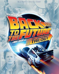Back to the Future Trilogy (30th Anniversary Edition + Digital) [Blu-ray]