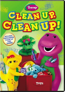 Barney: Clean Up, Clean Up! [DVD]