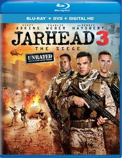 Jarhead 3: The Siege (Unrated Edition DVD) [Blu-ray]