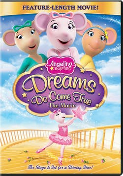 Angelina Ballerina: Dreams Do Come True - The Movie [DVD]