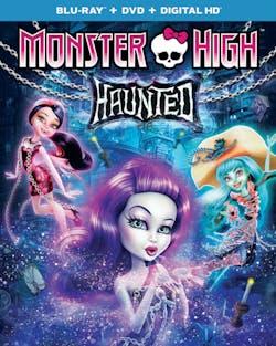 Monster High: Haunted (DVD + Digital) [Blu-ray]