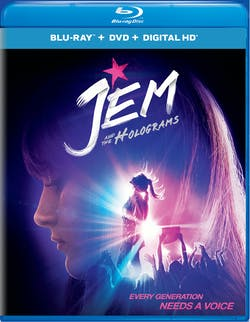 Jem and the Holograms (DVD) [Blu-ray]