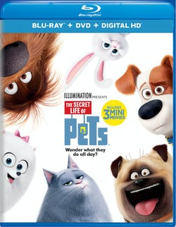 The Secret Life of Pets (DVD + Digital) [Blu-ray]