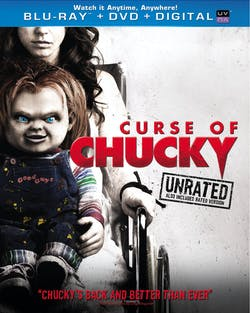 Curse of Chucky (Unrated + DVD) [Blu-ray]