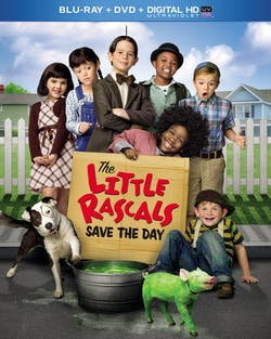 The Little Rascals Save the Day (DVD + Digital + Ultraviolet) [Blu-ray]
