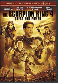 The Scorpion King 4 - Quest for Power [DVD]