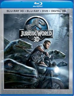 Jurassic World 3D (DVD + Digital) [Blu-ray]