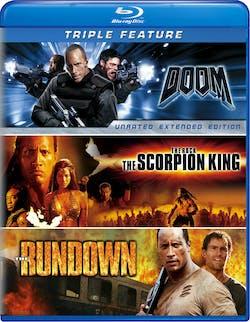 Doom/The Scorpion King/The Rundown [Blu-ray]