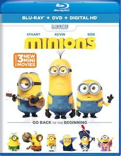 Minions (DVD + Digital) [Blu-ray]