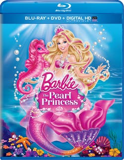Barbie: The Pearl Princess (DVD) [Blu-ray]